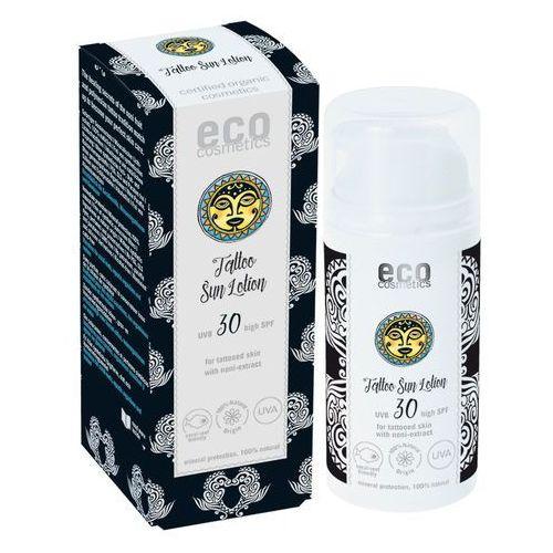 Eco cosmetics Emulsja na słońce lsf/spf 30 z ekstraktem z noni do skóry z tatuażami