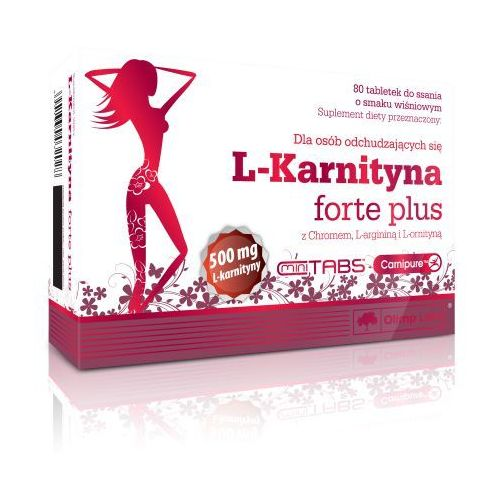 Tabletki OLIMP L-Karnityna FORTE PLUS tabletki na odchudzanie chrom l-arninina l-ornityna 80tabl do ssaniakap