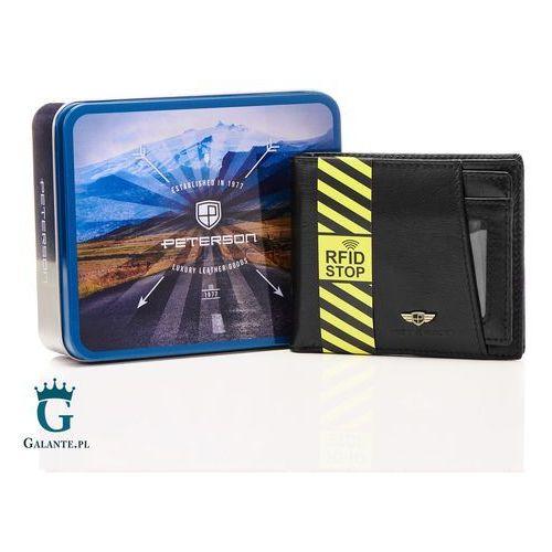 348a69d50af67 ▷ Skórzany portfel z wkładką na karty 381 rfid (Peterson) - opinie ...