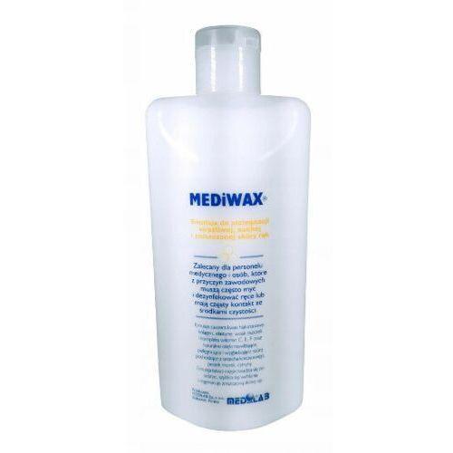 Medi-lab Medilab mediwax emulsja do pielęgnacji wrażliwej, suchej i zniszczonej skóry rąk (500 ml) - Bardzo popularne