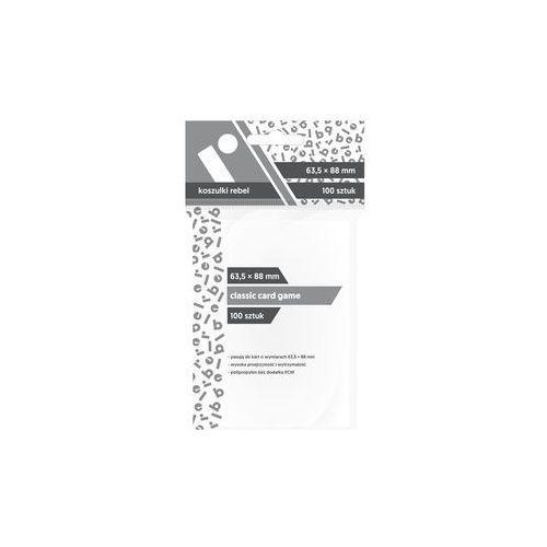 Koszulki CCG 63,5x88 (100szt) REBEL, 232250