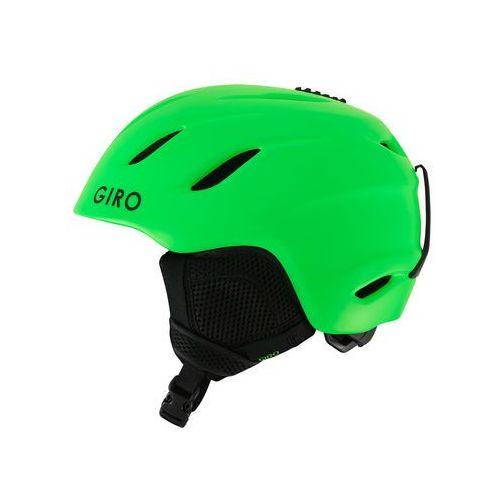 kask narciarski nine jr mat bright green m (55,5-59cm) marki Giro