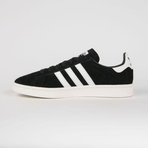 Adidas originals trampki niskie 'campus' czarny / biały