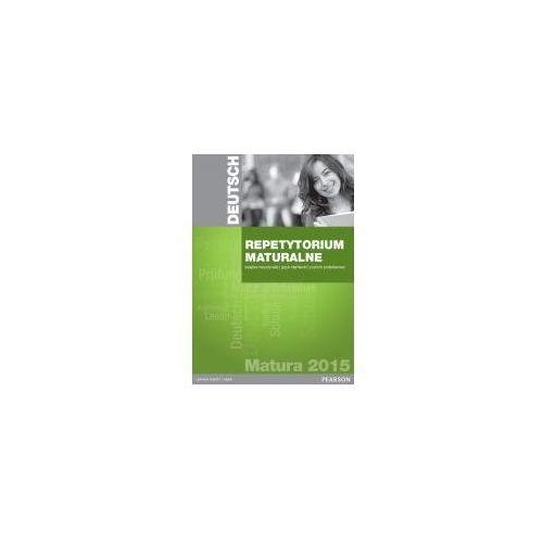 Pearson Repetytorium Maturalne 2015. Język Niemiecki. Poziom Podstawowy. Książka Nauczyciela + CD + Testgenerator