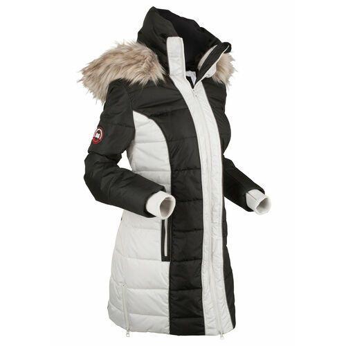 Płaszcz outdoorowy bonprix czarny, poliester