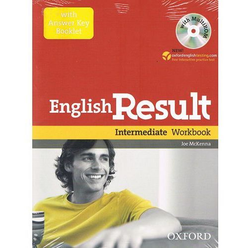 English result intermediate Workbook with answer key booklet+Cd, oprawa miękka