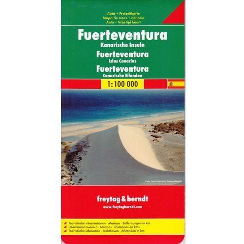Fuerteventura 1:100 000. Mapa samochodowa, składana. Freytag&Berndt, Lider Serwis