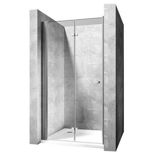 Rea Drzwi prysznicowe łamane do wnęki 110 cm best