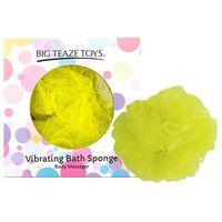 Wibrująca gąbka do kąpieli - Big Teaze Toys Bath Sponge Vibrating Żółty