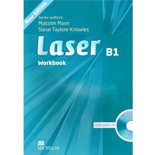Laser B1 (New Edition) Workbook without Key with Audio CD, Macmillan