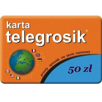 Zestawy startowe i doładowania Telegrosik DTP-SOFT Sp. z o.o.