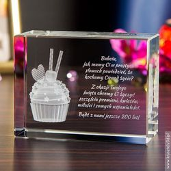 Na urodziny dla babci   Kryształy3D.pl