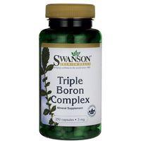 Kapsułki Swanson Triple Boron Complex 3mg 250 kaps.