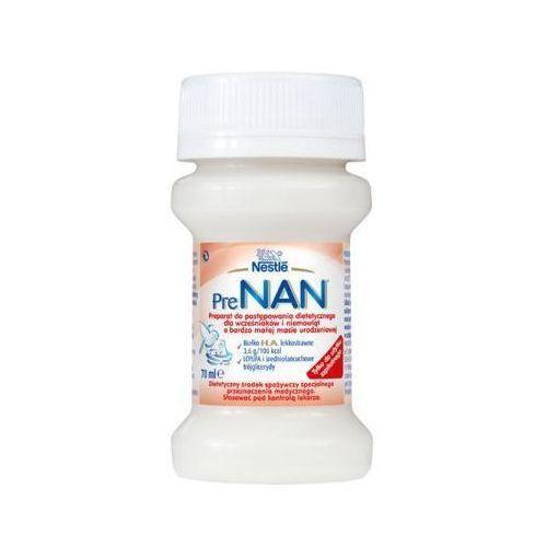 Nan Nestle pre 70ml mleko w płynie dla wcześniaków i niemowląt o małej masie, butelka