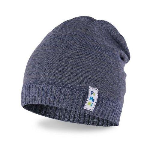 Pamami Wiosenna czapka chłopięca - jeansowy - jeansowy (5902934031738)