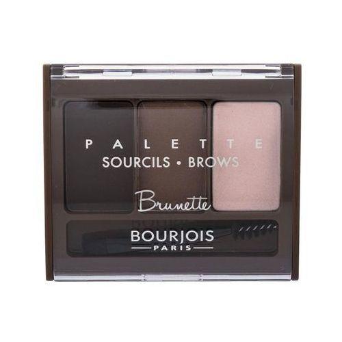 Bourjois Paleta brwiach na palecie (brwi) 4,5 g (cień 002 Brunette) - Znakomity rabat