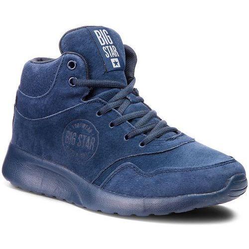Sneakersy BIG STAR - BB274634 Navy, kolor niebieski