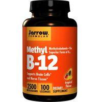 JARROW FORMULAS Methyl B-12 2500mcg 100 pastylek