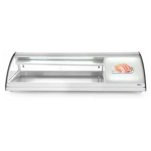 Hendi Witryna chłodnicza do sushi   63l   160w   230v   13007x450x(h)330 mm