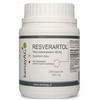 Kapsułki Resveratrol trans zmikronizowany 100mg 300 kaps.