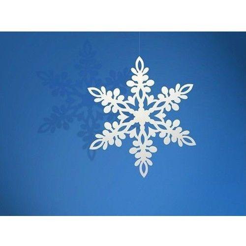 Zawieszka śnieżynka - 9 cm - 10 szt. Ap