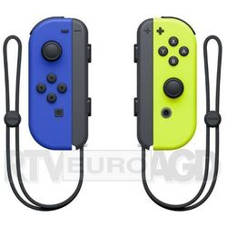 Nintendo Kontroler switch joy-con pair neon niebieski/żółty