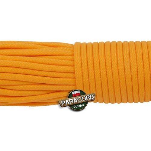 Paracord 550, kolor: Golden rod - linka spadochronowa z siedmioma rdzeniami