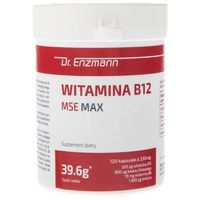 Kapsułki Dr. Enzmann Witamina B12 MSE MAX - 120 kapsułek