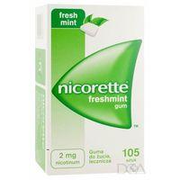 Pastylki Nicorette Freshmint Gum, gumy do żucia, 2 mg, 105 szt