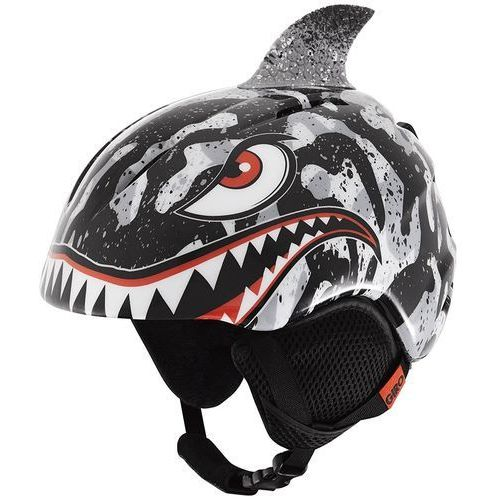 kask narciarski launch plus black/grey tiger sharks s (52-55,5 cm) marki Giro