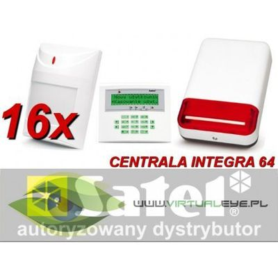 Zestawy alarmowe SATEL VirtualEYE