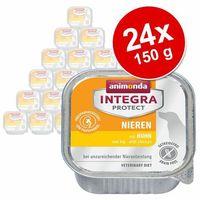 Korzystny pakiet Animonda Integra Protect, tacki, 24 x 150 g - Integra Protect Renal, kurczak (4017721864008)