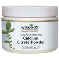 Proszek Swanson Cytrynian Wapnia Calcium Citrate 100% czystości proszek 227g