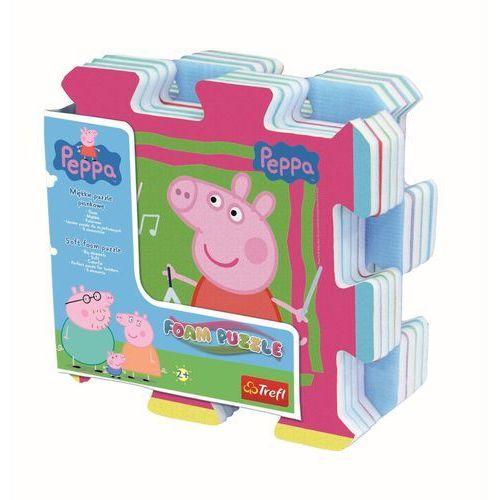 Układanka-puzzlopianka - Świnka Peppa TREFL (5900511603989)