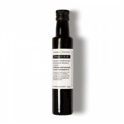 Cannaba organics Olej z nasion konopi włóknistej (omega 3-6-9) (5902198162056)