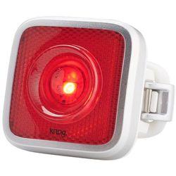 Knog Blinder MOB Oświetlenie StVZO czerwone LED szary 2018 Oświetlenie rowerowe - zestawy