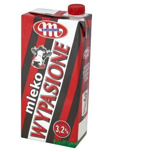 Mlekovita Mleko wypasione 1l. 3,2% karton op.12