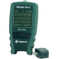 Tester i lokalizator przewodów  netcat pro 2nc-500 lan, ekran dotykowy lcd marki Greenlee