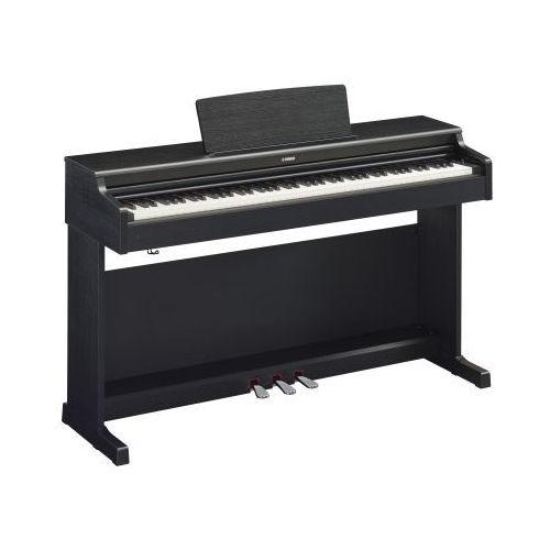 ydp 164 black arius pianino cyfrowe, kolor czarny + ława yamaha + słuchawki yamaha hph 100 b marki Yamaha