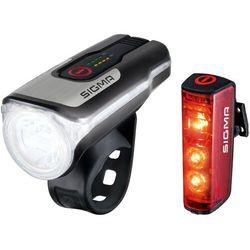 SIGMA SPORT Aura 80/Blaze Zestaw oświetlenia na USB 2020 Oświetlenie rowerowe - zestawy