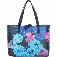 Replay Torba shopper 34,5 cm black flower ZAPISZ SIĘ DO NASZEGO NEWSLETTERA, A OTRZYMASZ VOUCHER Z 15% ZNIŻKĄ