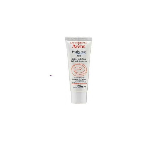 Avene hydrance optimale rich hydrating cream (w) wzbogacony krem nawilżający 40ml