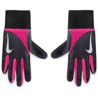 Rękawiczki Damskie NIKE - NRGA8067 067 Czarny Różowy