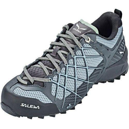 wildfire buty kobiety, szary/turkusowy uk 6 | eu 39 2021 buty podejściowe marki Salewa