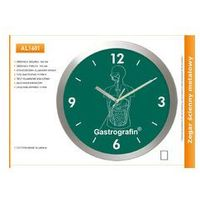 Zegar reklamowy aluminiowy duży /400mm, kolor Zegar