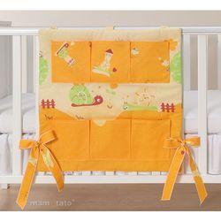 przybornik ślimaki pomarańczowe - promocja marki Mamo-tato