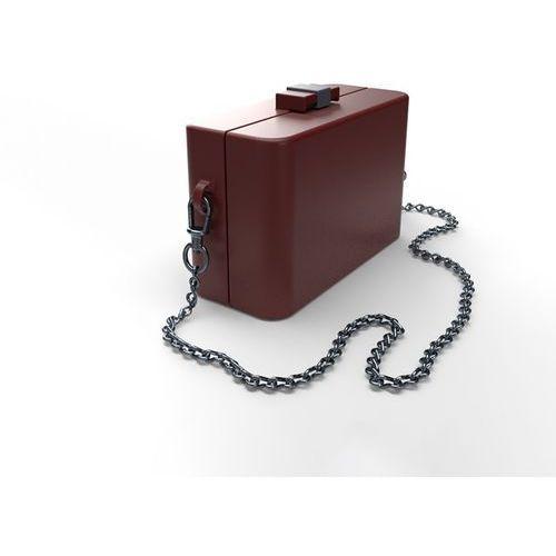 Torebka damska NanoCubie burgundy dahlia, NC010102