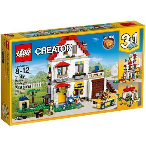 31069 RODZINNA WILLA (Modular Family Villa) KLOCKI LEGO CREATOR