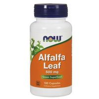 Alfalfa lucerna siewna 500mg 100 kaps.
