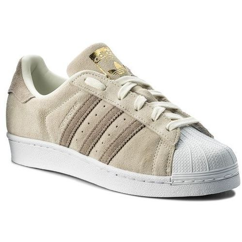 Buty adidas - Superstar W CG5459 Owhite/Lbrown/Hiregr, kolor beżowy
